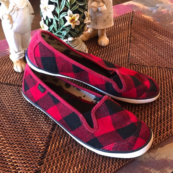 bbd8f028fb2 Keds Shoes - Keds Slip On Shoes Plaid Buffalo Check